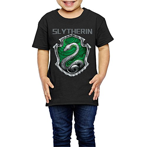 YFF 2-6 Years Old Funny Youth Harry Potter Slytherin Crest T -