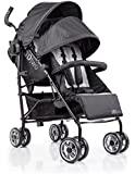 Summer Infant 3D Two Double Convenience Stroller, Gray Squared