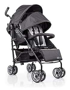 summer infant 3d two double convenience stroller black baby. Black Bedroom Furniture Sets. Home Design Ideas