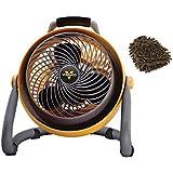 Vornado 293 Fan, Heavy Duty Shop Circulator (Complete Set) w/ Bonus: Premium Microfiber Cleaner Bundle