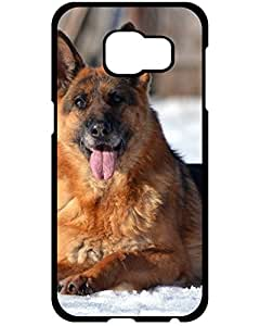 2015 Protective Tpu Case With Fashion Design For Samsung Galaxy S6 Edge (German shepard sit) 4443329ZE264409419S6E WWE GalaxyS6 Edge Case's Shop