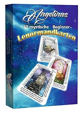 40 cartas Lenormand para principiantes de Angelinas (9 ...