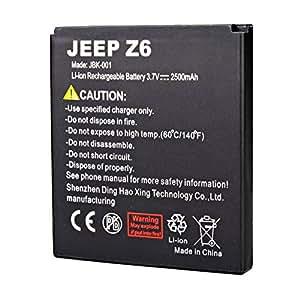 Batería Original 2500mAh Para JEEP Z6 Smartphone