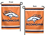 Denver Broncos Garden Flag 2013 Logo Mini Wincraft Orange