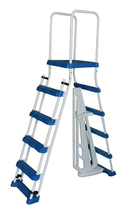 Amazon.com: Escalera con marco en A con escalones extraíbles ...