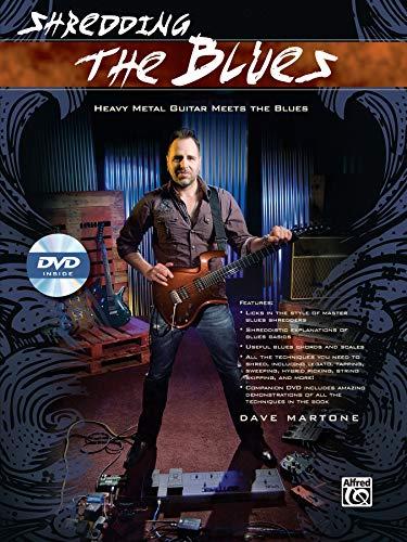(Shredding the Blues: Heavy Metal Guitar Meets the Blues, Book & DVD (Shredding Styles))