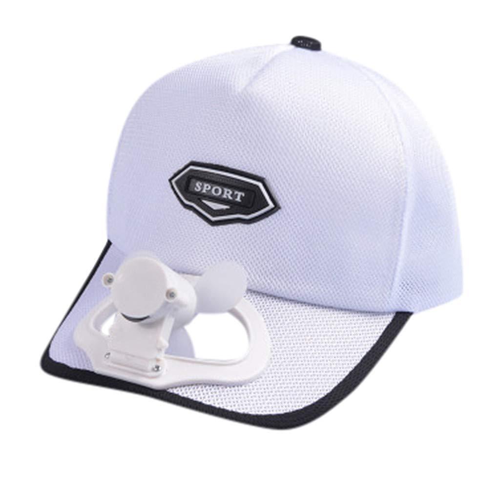 Gorra de béisbol con ventilador USB, enfriamiento de verano ...