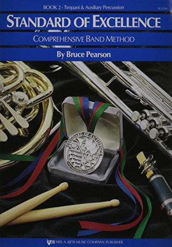 Standard of Excellence: Comprehensive Band Method, Book 2 - Timpani/Auxiliary Percussion