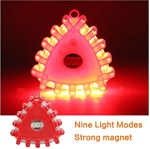 Luz de advertencia intermitente magnética de seguridad de ...