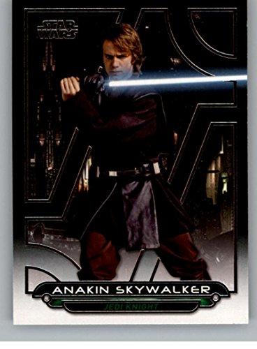 (2017 Topps Star Wars Galactic Files Reborn #ROTS-1 Anakin Skywalker)