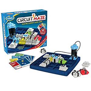 ThinkFun Circuit Maze Game,Logic Games