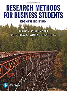 Research Methods for Business Students (7th Edition): 9781292016627