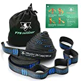 pys Hammock Straps, 40 Loops Combined 20 ft Long, 2000 LBS Heavy Duty, Lightweight, Easy Setup, Fits all Hammocks (10ft)