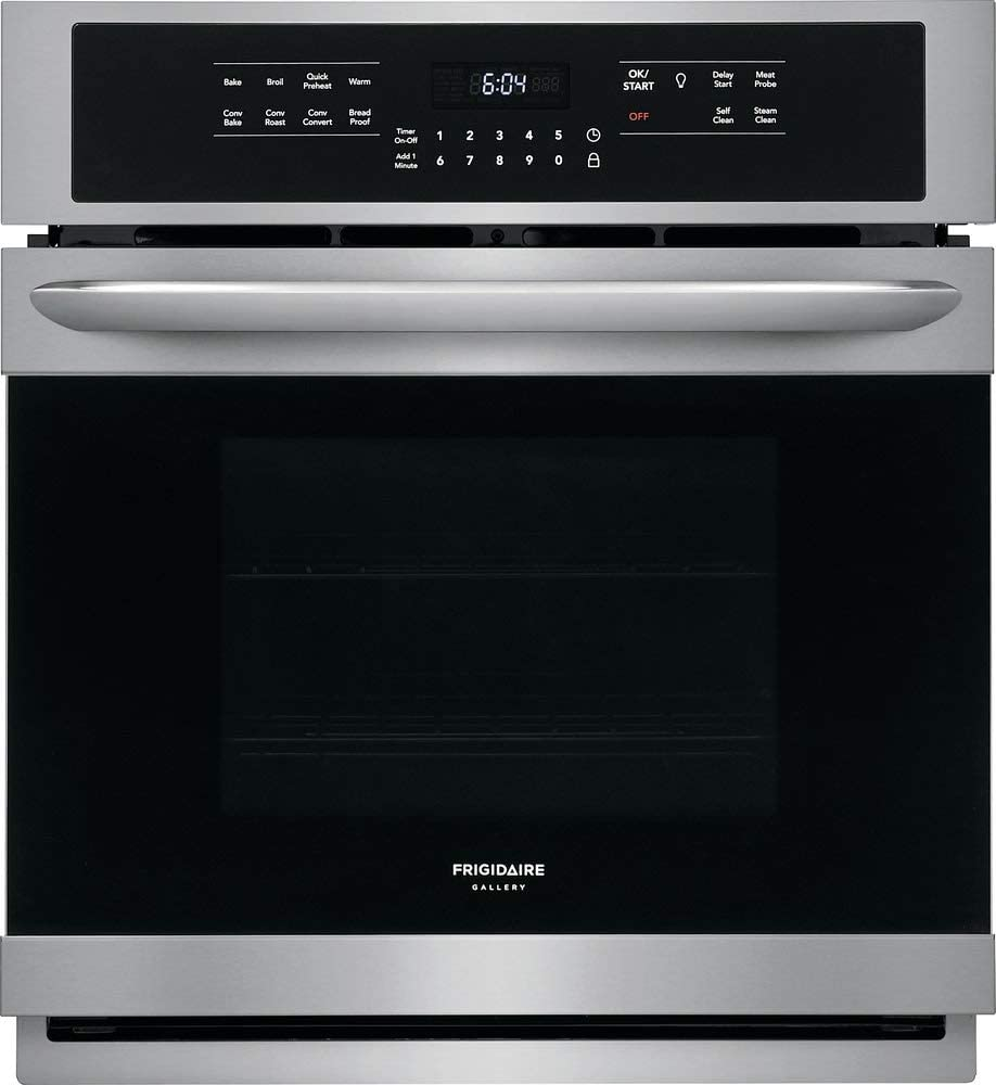 Frigidaire Gallery FGEW2766UF 27 Stainless Single Electric Wall Oven