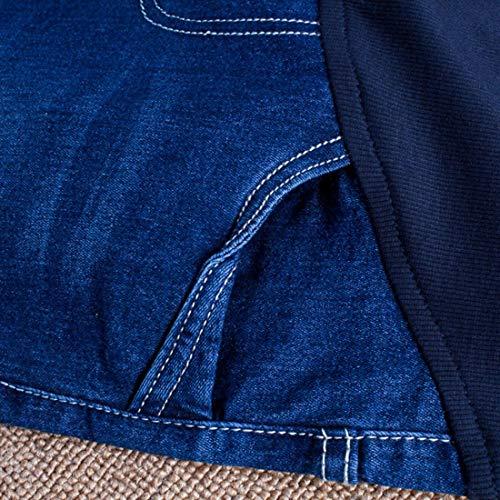 lastique Pantalons Les Confortable Porter Denim de Pantalons Coton maternit Crayon Femmes lastiques Extensible rendent Le Taille Jeans Enceintes 1SSnqOaY