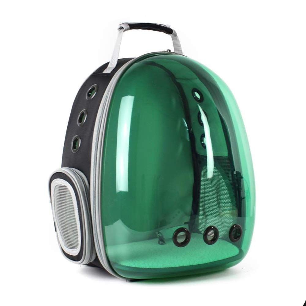 B Eroscat Cat Carrying Backpack,Space Capsule Outdoor Pet Backpack for Small Dog,Transparency Predection Waterproof Cat Holding Backpack (color   B)