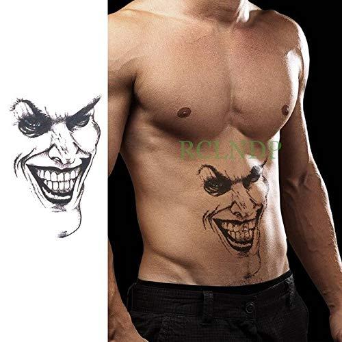 HXMAN 3 Unids Impermeable Tatuaje Temporal Vieja Escuela Tatto ...