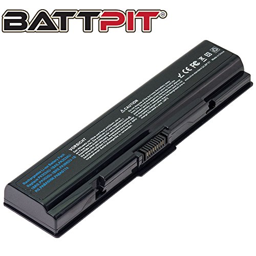 Battpit™ Laptop/Notebook Battery for Toshiba Satellite A215-S4747 Satellite A215-S4767 Satellite A215-S4737 Satellite A215-S4757 Satellite A215-S4807 (4400 mAh / 48Wh)