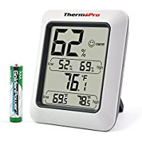 ThermoPro TP50 Digital Hygrometer Humidity Monitor