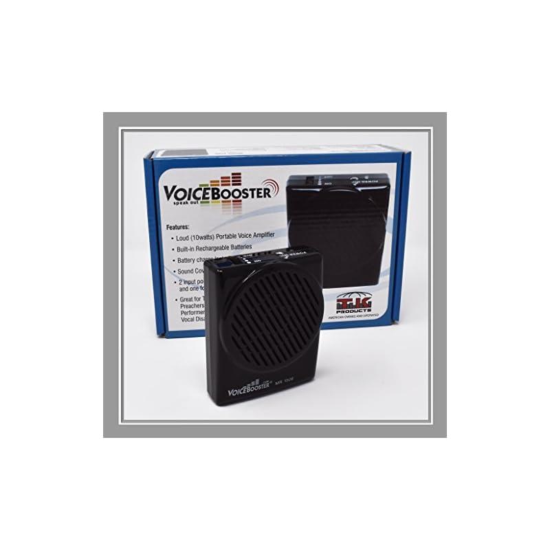 VoiceBooster Voice Amplifier 10watts Bla