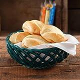 """The Pioneer Woman Microwave Safe 9"""" Bread Basket, OCEAN TEAL"""