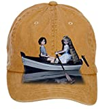 Aiyle Bonee When Marnie Was There Wallpaper Design Baseball Caps for Woman Brown One Size