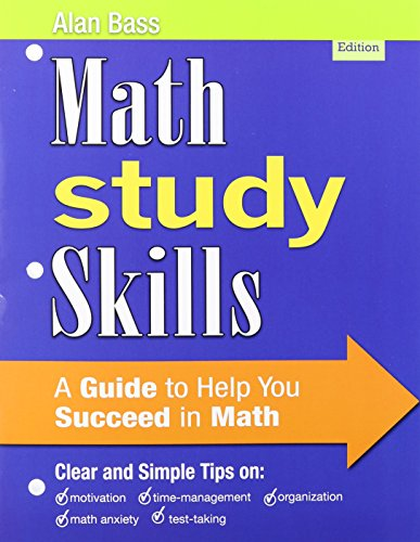 Developmental Mathematics: Basic Mathematics and Algebra, a la Carte Edition, MyMathLab, and Math Study Skills