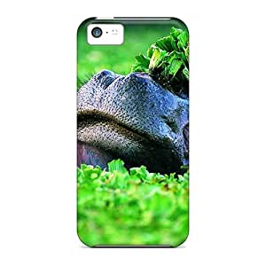 New Style Case Cover OQimdFK5673BxvMI Two Hippo Compatible With Iphone 5c Protection Case