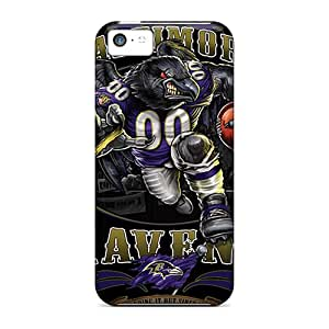 For FXHCvaF-4480 Baltimore Ravens Protective Case Cover Skin/iphone 5c Case Cover