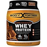 Body Fortress Super Advanced Whey Protein Powder, Great for Meal Replacement Shakes, Low Carb, Gluten Free, Chocolate Peanut Butter, 2 lbs