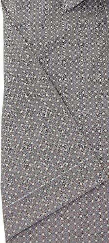 Venti Herrenhemd slimfit braunes Hemd mit Druck halbarm Kent Kragen ohne Tasche Kollektion Size 41