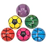 "Fun Express - SPORTS POPPERS - BULK, Size: 1.25"", Assorted Colors (1-Pack of 24)"