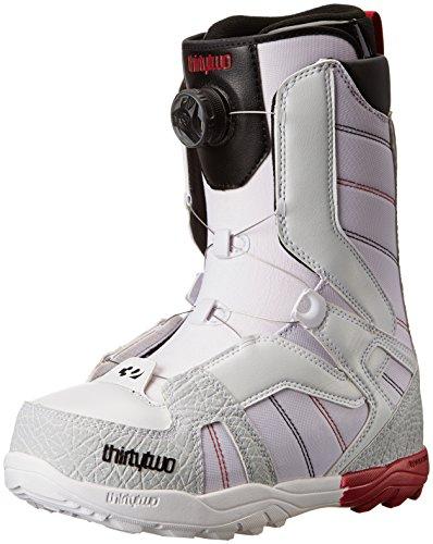 thirtytwo Mens STW BOA Snowboard Boot White