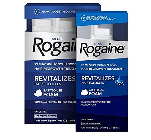 Minoxidil (paperback) foam 4 Rogain