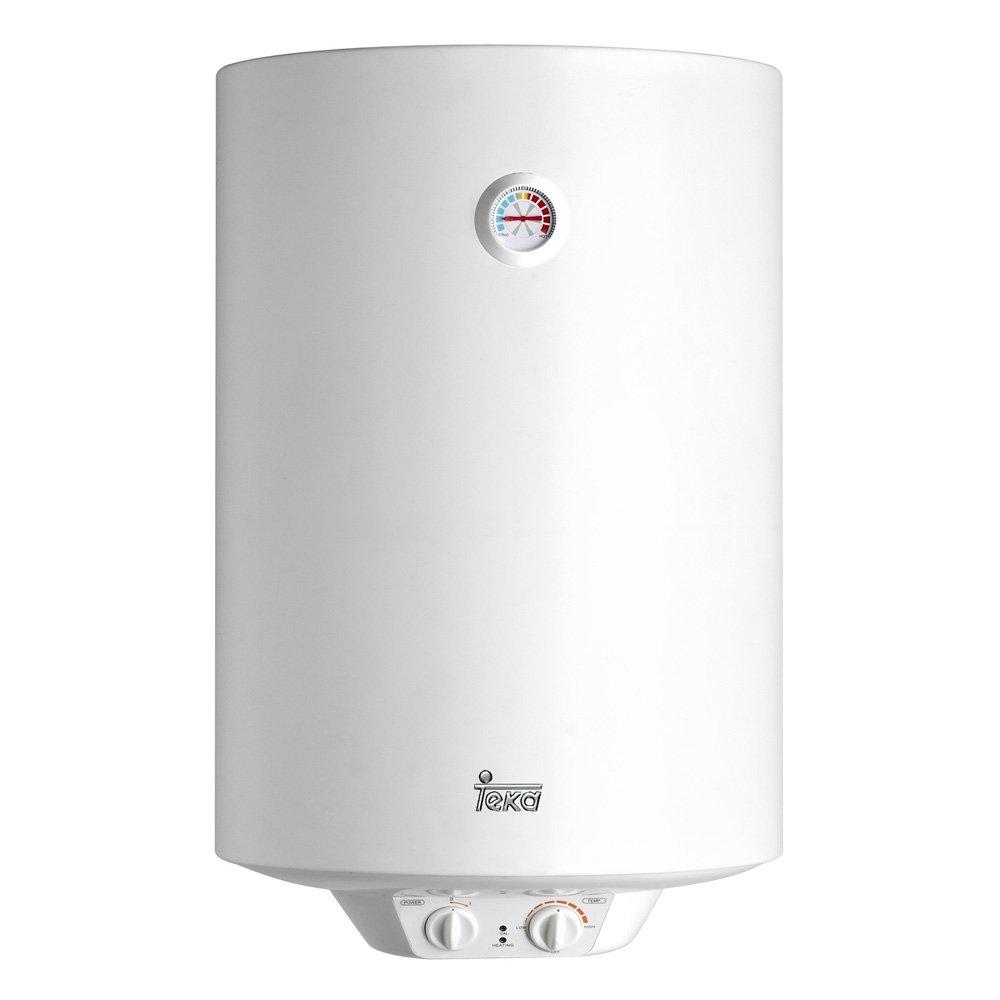 Teka-Eau Électrique Ewh80 80L Blanc 450 X 796 Cuve Thermostat Céramique Émaillée Résistance Température 30-75º 1500W 42080080