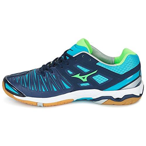 De Running Turquoise Stealth Gecko Marine Para vert Zapatillas 4 Wave bleu Hombre Mizuno Bleu qUSCwxpIH
