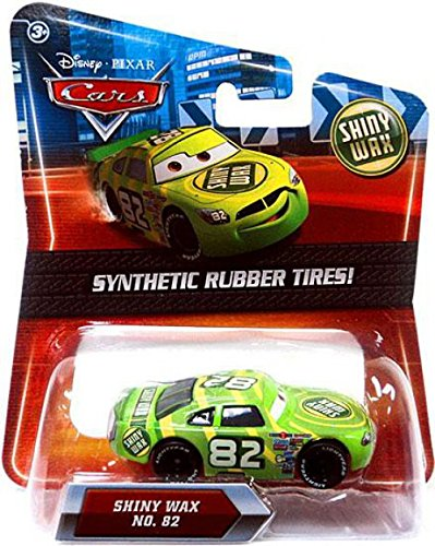 - Disney / Pixar CARS Movie Exclusive 155 Die Cast Car with Synthetic Rubber Tires Shiny Wax