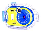Jazz JDC38W Waterproof 1.3MP Digital Flash Camera (Yellow/Blue)