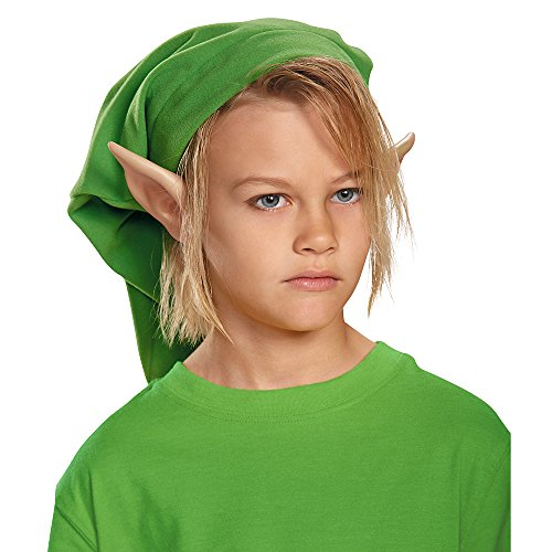Link Kids Costumes (Link Hylian Child Ears Costume)