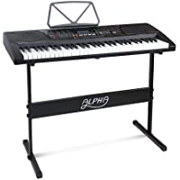 Alpha 61 Keys Lighted Electronic Keyboard