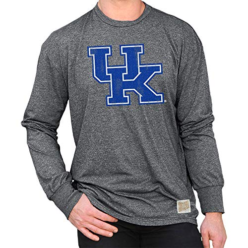 cky Wildcats Retro Long Sleeve Tshirt Charcoal - L ()