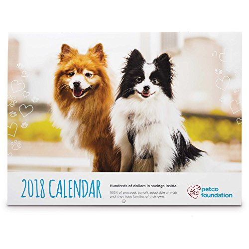 Petco Foundation 2018 Wall Calendar