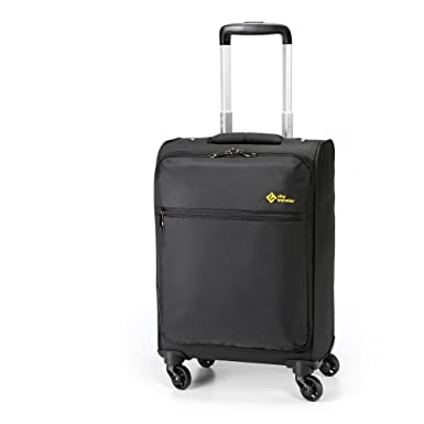Amazon.com | City Traveler Durable Nylon Business Suitcase - Carry ...
