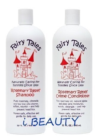 Fairy Tales Rosemary Repel Creme 32 oz Shampooing + 32 oz Conditioner (Combo Deal)