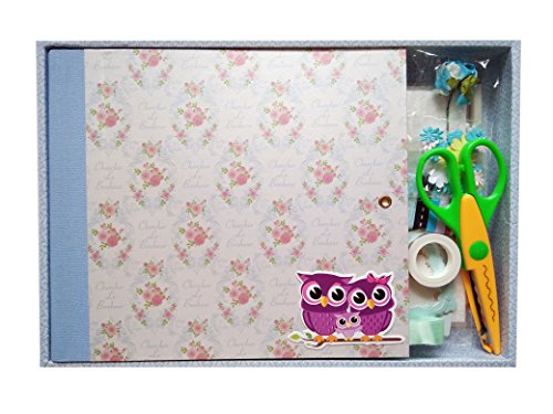 IDULL 8x8 Scrapbooking Kit for Kids (Sky Blue) by IDULL