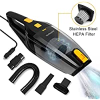Nefeeko Handheld Car High Power 5000-5500pa Strong Suction Portable Corded Auto Vacuum Cleaner