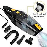 Nefeeko Car Vacuum Cleaner, 5500Pa Strong Suction Low Noise...