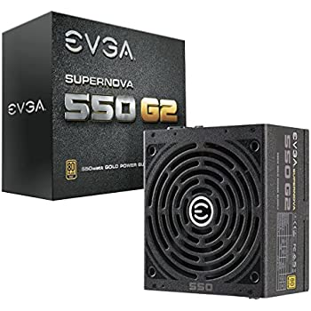 EVGA SuperNOVA 550 G2, 80+ GOLD 550W, Fully Modular, EVGA ECO Mode, 7 Year Warranty, Includes FREE Power On Self Tester Power Supply 220-G2-0550-Y1