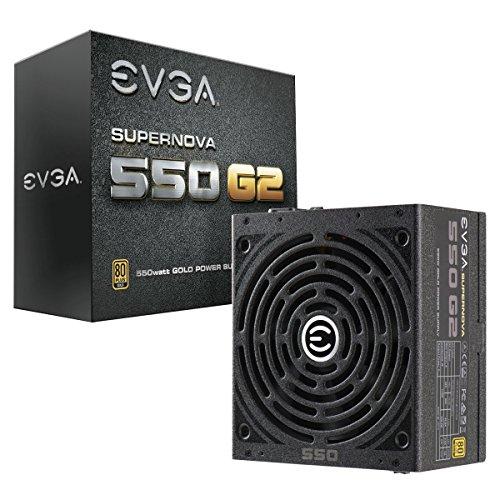 EVGA SuperNOVA 550 G2, 80+ GOLD 550W, Fully Modular, EVGA ECO Mode, 7 Year Warranty, Includes FREE Power On Self Tester Power Supply 220-G2-0550-Y1