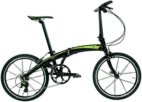 Dahon Nu SL11 Bicicleta Plegable para Adulto, Arena Lime, Talla 20